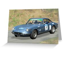 Ferrari 330 GTC - 1966 Greeting Card
