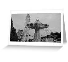 Jardin des Tuileries II Greeting Card