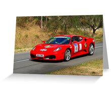 Ferrari F430 F1 - 2005 Greeting Card