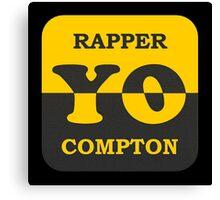Cool Rapper Compton Canvas Print