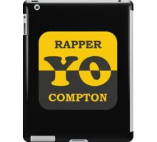 Cool Rapper Compton iPad Case/Skin