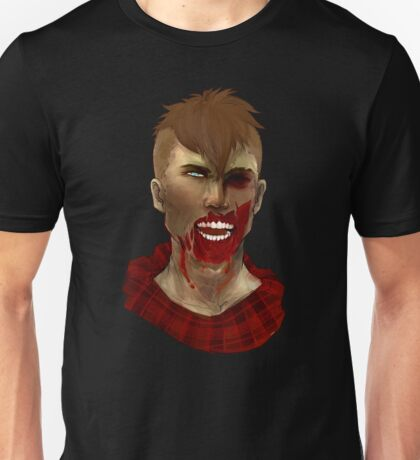 Hipster Zombie Unisex T-Shirt