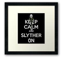 Slyther On Framed Print