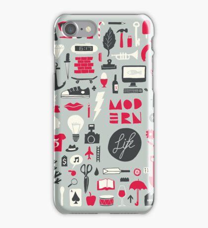 MODERN Life iPhone Case/Skin