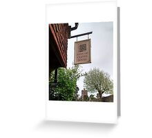 Anne of Cleaves House Greeting Card