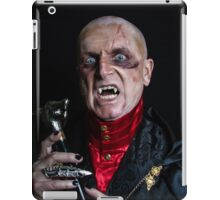Scorched Count iPad Case/Skin