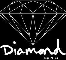 Diamond Supply Simple Diamond by ikillwithnostyl