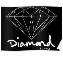 Diamond Supply Simple Diamond Poster