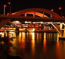 Brisbane William Jolly Bridge by voir