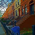 Park Slope townhouses, Brooklyn by michael6076