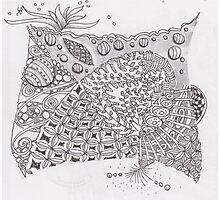 San-Doodle 009 Photographic Print