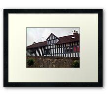 Tudor House - Anne of Cleaves House Framed Print
