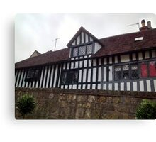 Tudor House - Anne of Cleaves House Canvas Print