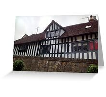Tudor House - Anne of Cleaves House Greeting Card