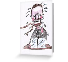 Ricky Gervais. Greeting Card