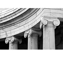 Classical  marble Columns Photographic Print