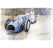 Bluebird 1933 Daytona Malkolm Campbell Poster