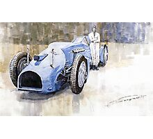 Bluebird 1933 Daytona Malkolm Campbell Photographic Print