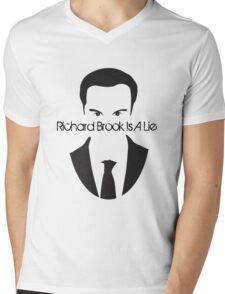 Richard Brook Is A Lie #2 Mens V-Neck T-Shirt