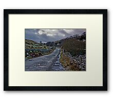 Country Road - Keld Framed Print