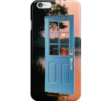 The portal to zen living iPhone Case/Skin