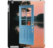 The portal to zen living iPad Case/Skin