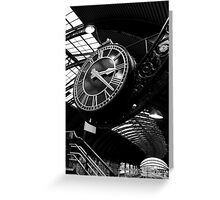 A Shot in Time Greeting Card