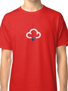 The weather series - White cloud with light rain Classic T-Shirt