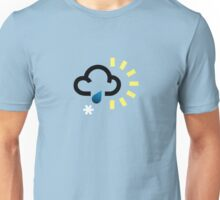 The weather series - Wintery weather Unisex T-Shirt