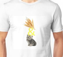White Wheat & KIttens Unisex T-Shirt