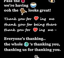 Linda Belcher Thanksgiving Song by madamebat