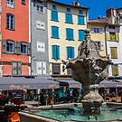 France. Le Puy-en-Velay. Fountain. by vadim19