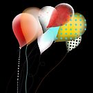 Black Balloons by rupydetequila