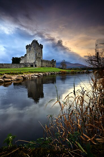 Ross Castle - Killarney by Derek Smyth