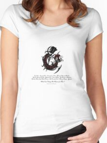 Planescape: Torment Tattoo Women's Fitted Scoop T-Shirt