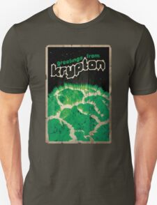 Defunct Planets No. 2: Greetings From Krypton! T-Shirt
