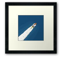 Space Shuttle Challenger Framed Print