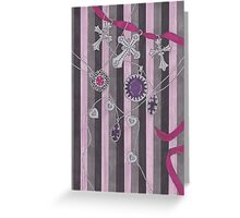 See Clean Through Greeting Card