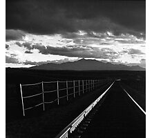 Railway into the Sun Photographic Print