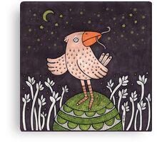 The Early Bird Canvas Print