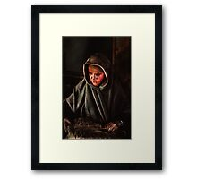 The Old Lady Framed Print
