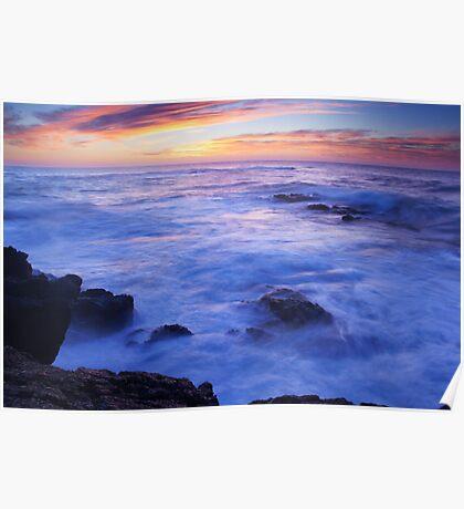 Ocean Sunrise Poster