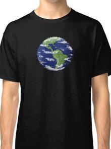 Pixel Earth Classic T-Shirt