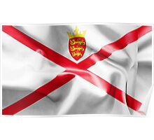 Jersey Flag Poster
