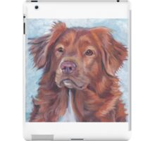 Nova Scotia Duck Tolling Retriever Fine Art Painting iPad Case/Skin