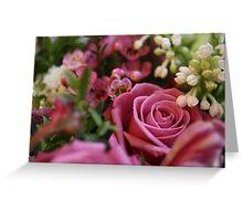 Beautiful Pink Flowers Greeting Card
