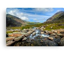Welsh Valley Canvas Print