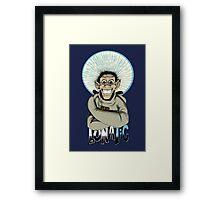 Lunatic! Framed Print