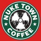 Nuketown Coffee by Royal Bros Art