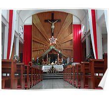 Holy Cross - Santa Cruz Poster